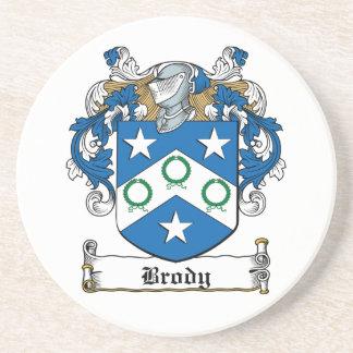 Escudo de la familia de Brody Posavasos Diseño
