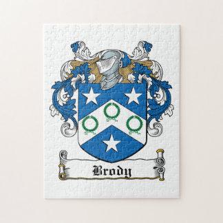 Escudo de la familia de Brody Puzzles