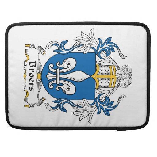 Escudo de la familia de Broers Funda Macbook Pro