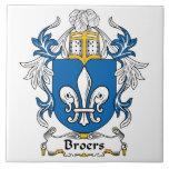 Escudo de la familia de Broers Tejas