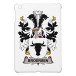 Escudo de la familia de Broersen iPad Mini Carcasas