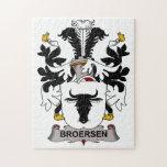 Escudo de la familia de Broersen Rompecabeza Con Fotos