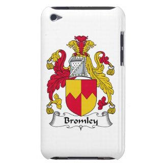 Escudo de la familia de Bromley iPod Case-Mate Cárcasas