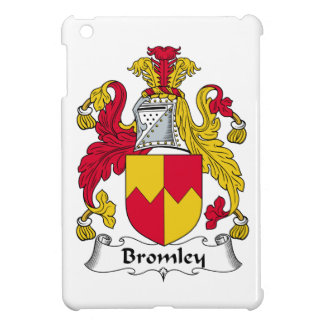 Escudo de la familia de Bromley iPad Mini Carcasas