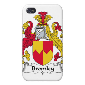 Escudo de la familia de Bromley iPhone 4 Funda