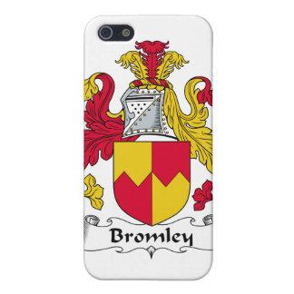 Escudo de la familia de Bromley iPhone 5 Cárcasas