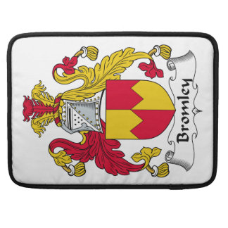 Escudo de la familia de Bromley Funda Para Macbook Pro