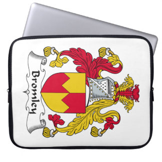 Escudo de la familia de Bromley Mangas Portátiles