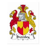 Escudo de la familia de Bromley Postal
