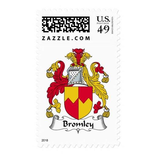 Escudo de la familia de Bromley Sello