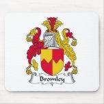 Escudo de la familia de Bromley Alfombrillas De Ratón