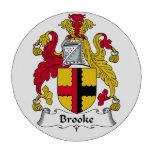 Escudo de la familia de Brooke Fichas De Póquer