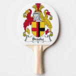 Escudo de la familia de Brooke Pala De Ping Pong