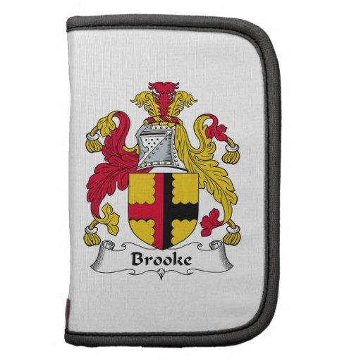 Escudo de la familia de Brooke Planificador