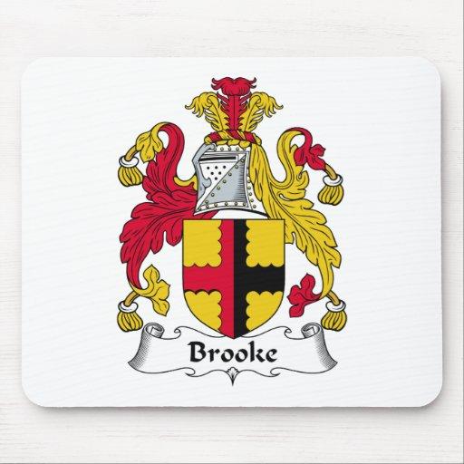 Escudo de la familia de Brooke Alfombrilla De Ratón