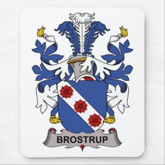Escudo de la familia de Brostrup Alfombrillas De Ratón