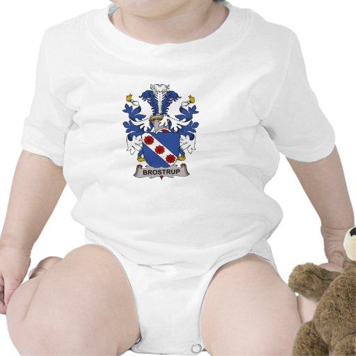 Escudo de la familia de Brostrup Camisetas