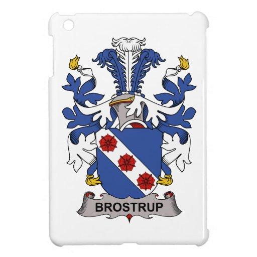 Escudo de la familia de Brostrup iPad Mini Cárcasas