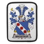 Escudo de la familia de Brostrup Mangas De iPad