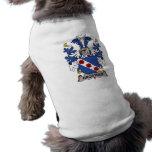 Escudo de la familia de Brostrup Ropa Perro