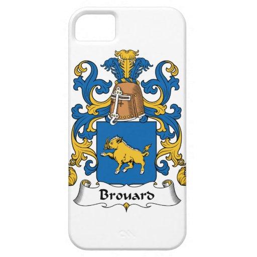 Escudo de la familia de Brouard iPhone 5 Case-Mate Carcasa