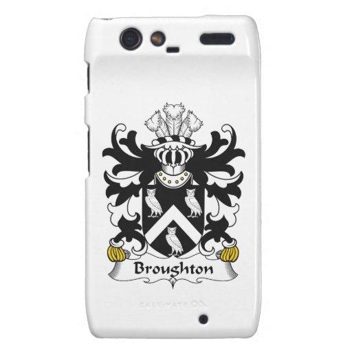Escudo de la familia de Broughton Droid RAZR Carcasa