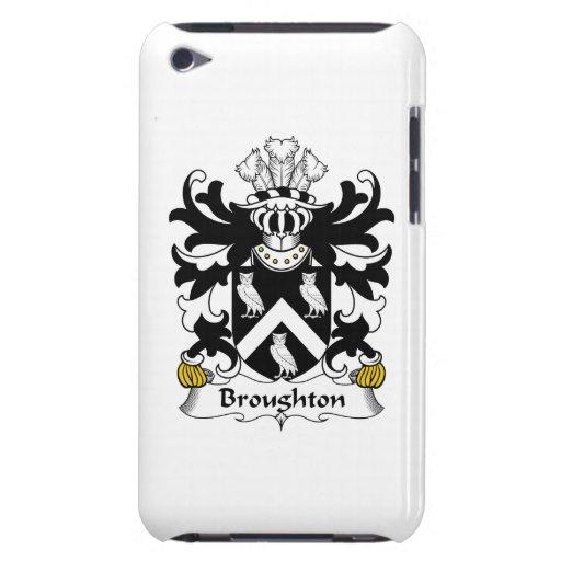 Escudo de la familia de Broughton iPod Touch Case-Mate Protector