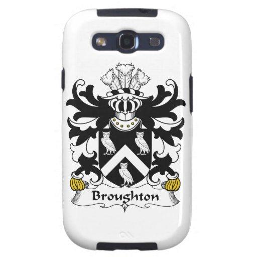 Escudo de la familia de Broughton Samsung Galaxy S3 Protector