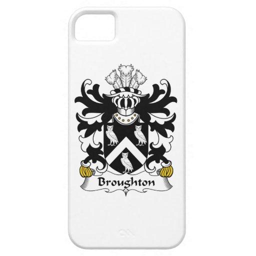 Escudo de la familia de Broughton iPhone 5 Cobertura