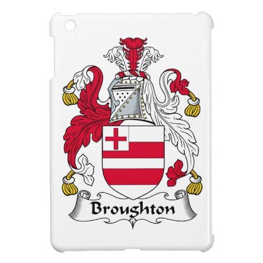 Escudo de la familia de Broughton iPad Mini Funda