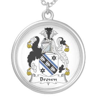 Escudo de la familia de Brown Grimpola Personalizada