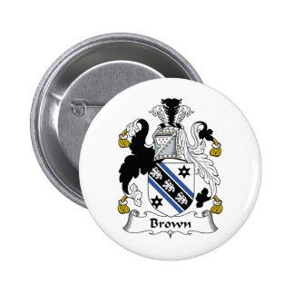 Escudo de la familia de Brown Pins