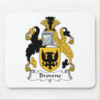 Escudo de la familia de Browne Alfombrillas De Ratón