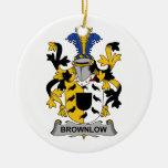 Escudo de la familia de Brownlow Ornamentos De Reyes