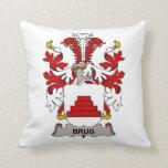Escudo de la familia de Brug Cojines