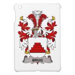 Escudo de la familia de Brug iPad Mini Cárcasa