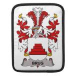 Escudo de la familia de Brug Mangas De iPad