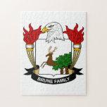 Escudo de la familia de Brune Puzzles Con Fotos