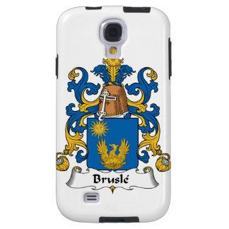 Escudo de la familia de Brusle Funda Para Galaxy S4