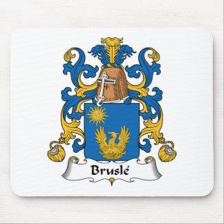 Escudo de la familia de Brusle Tapete De Raton