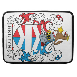 Escudo de la familia de Brutyn Funda Macbook Pro