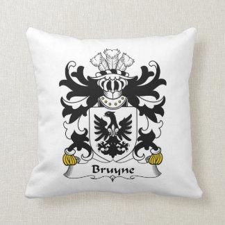 Escudo de la familia de Bruyne Almohadas