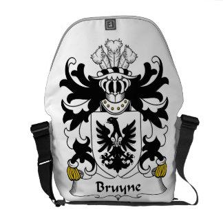 Escudo de la familia de Bruyne Bolsas Messenger