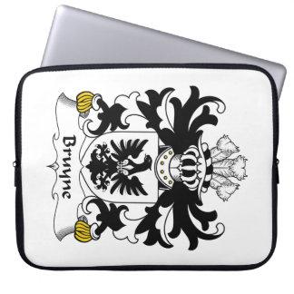 Escudo de la familia de Bruyne Funda Ordendadores