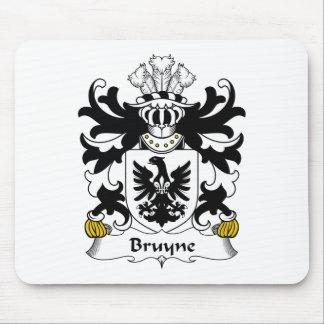 Escudo de la familia de Bruyne Mousepads