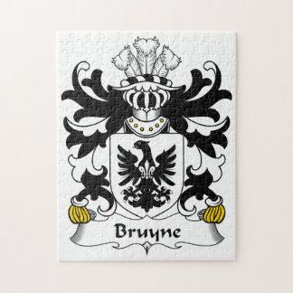 Escudo de la familia de Bruyne Puzzles Con Fotos
