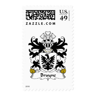 Escudo de la familia de Bruyne Franqueo
