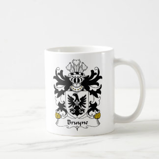 Escudo de la familia de Bruyne Taza De Café