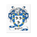 Escudo de la familia de Bryden Lona Estirada Galerias