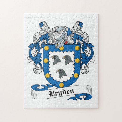 Escudo de la familia de Bryden Puzzles Con Fotos